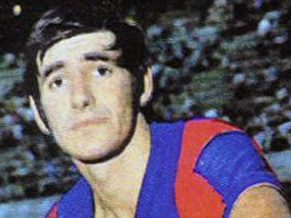 Sergio Villa, uruguayo de nacimiento pero en el corazón argentino de San Lorenzo (Foto: somoscuervo.com)