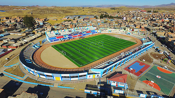 El estadio Modelo de Ilave, un proyecto ambicioso que ya es realidad para que lo disfrute la provicia de El Collao. (Foto: Gobierno Regional de Puno)