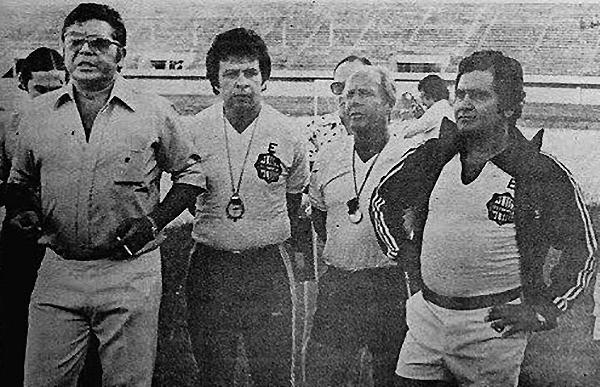 Aníbal Ruiz acompañó a Luis Cubilla en la era exitosa de Olimpia. (Foto: Facebook)
