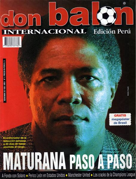 Francisco Maturana era el técnico de la selección peruana cuando salió a la venta el primer número mensual de Don Balón Perú (Foto: Don Balón Perú)