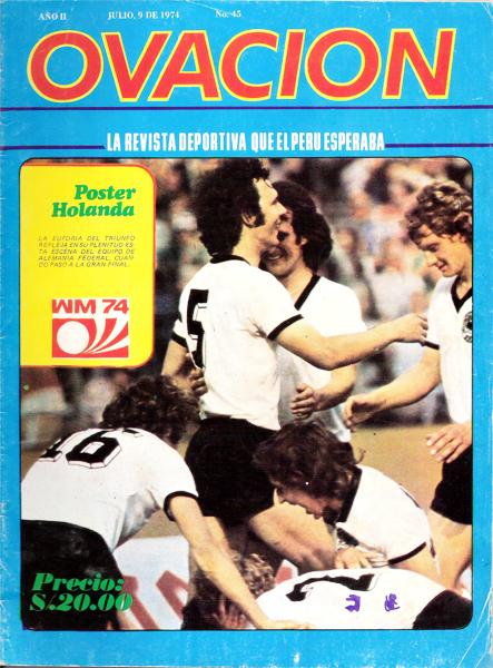 Tiempo de Mundial, tiempo de Alemania como campeón del mundo en 1974 (Foto: revista Ovación)