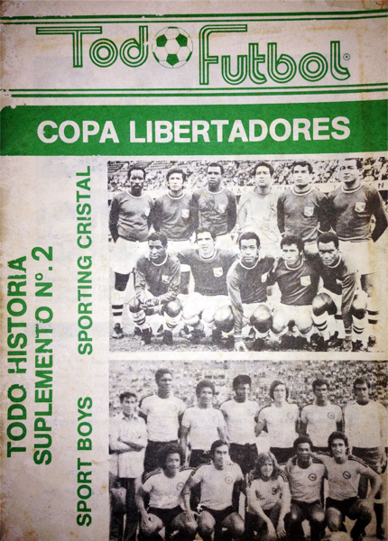 La tapa del segundo número de Todo Fútbol, con el repaso de las campañas de los equipos peruanos en la Copa Libertadores  (Recorte: revista Todo Fútbol)