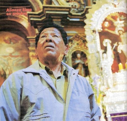 El 'Chino Pepe', emblemático utilero aliancista y padre de la leyenda blanquimorada (Recorte: revista Don Balón Perú)