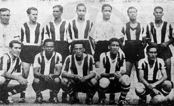 Con este equipo Alianza Lima le ganó a Social San Carlos y regresó a la División de Honor (Recorte: diario La Prensa)