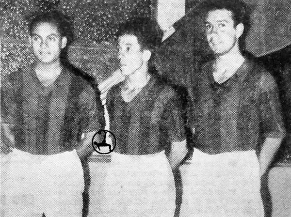 Más peruanos con camiseta de San Lorenzo: Carlos Tovar, Segundo 'Titina' Castillo y Orestes Jordán. (Foto: revista El Gráfico)