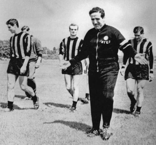 Helenio Herrera, un maestro de la táctica defensiva, fue el técnico más ganador de la historia del Inter (Foto: chrisound.de)