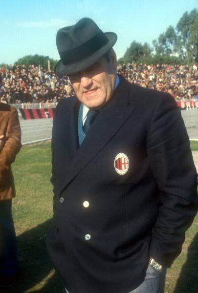 Italianísimo como él solo, Nereo Rocco fue otro de los padres de la criatura (Foto: magliarossonera.com)