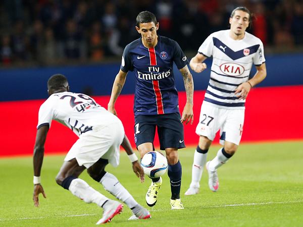 La llegada de Di María fue crucial en el PSG. (Foto: AP)