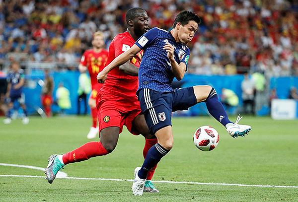 El 4-1-4-1 funcionó hasta cierto punto en el Japón - Bélgica, por los cuartos de final del Mundial. (Foto: AFP)
