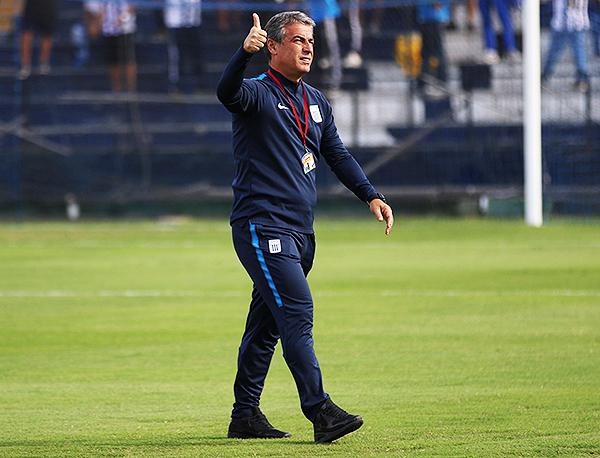 Pablo Bengoechea volvió a conseguir buenos resultados con Alianza Lima. (Foto: Pedro Monteverde / DeChalaca.com)