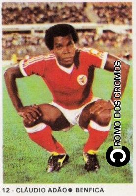 El Benfica de Portugal también lo tuvo en sus filas, en 1983 (Cromo: cromodoscromos.blogspot.com)
