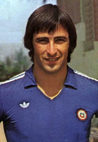 En la cúspide de su carrera, convocado a la selección chilena para el Mundial 1982... (Foto: archivo José Augusto Giuffra)