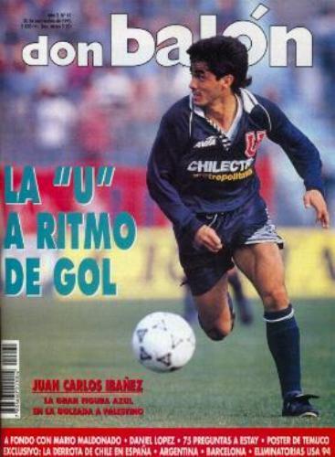 Portada de la revista Don Balón en su buena época con la 'U' de Chile (Foto: Talentos Fútbol)