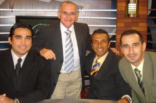 Convertido en comentarista de TV, en el programa El Camerino de CD 7. (Foto: elcamerino-cd7.blogspot.com)