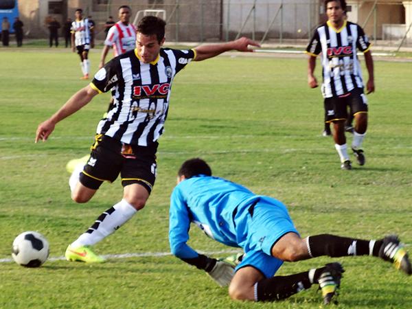 Pese a la campaña de Sport Victoria, Elián Abdala superó las expectativas. (Foto: Alan Roca / Bravazos Ica)