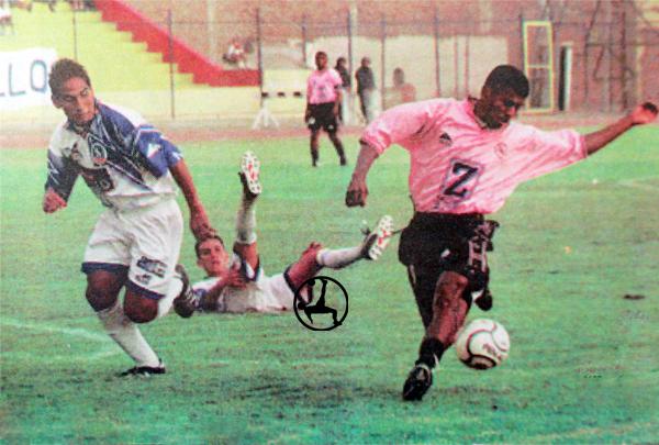 El mejor momento de Alcíbar en Sport Boys fue cuando le anotó un doblete a UPAO (Recorte: diario Líbero)