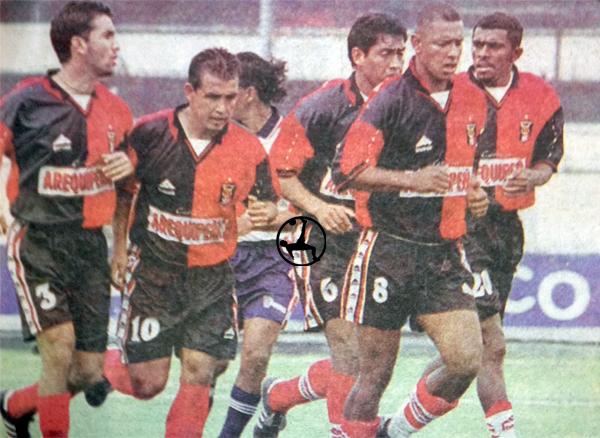 El colombiano Alcíbar jugó dos torneos con Melgar y solo marcó un gol (Recorte: diario Líbero)