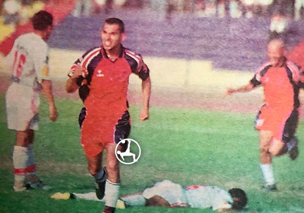 Saraz tuvo una buena temporada con Coopsol en 2001. (Foto: diario El Bocón)