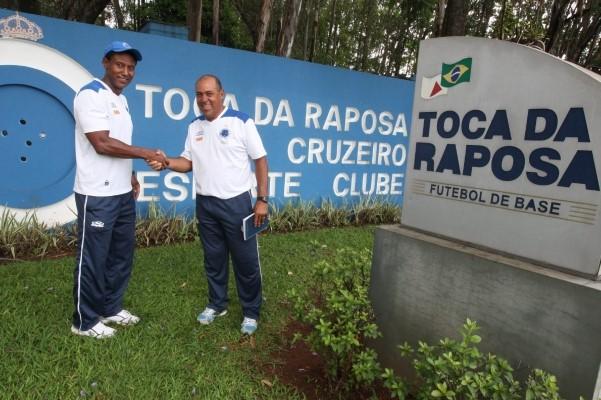 Careca se ha reencontrado con Hamilton Lima, su antiguo socio de ofensiva, como entrenadores de las divisiones menores de Cruzeiro (Foto: Hoje Media)