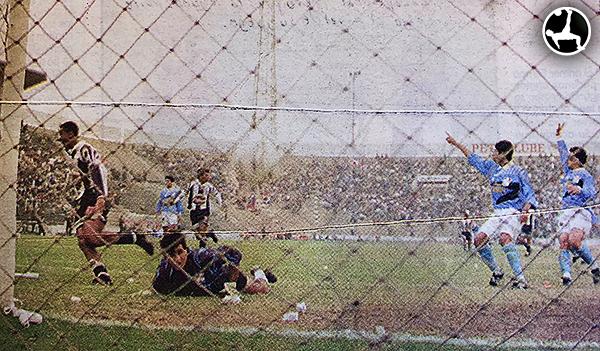 Al margen de los goles, el paso de Careca por el Perú fue relativamente fugaz. (Recorte: Diario Líbero)