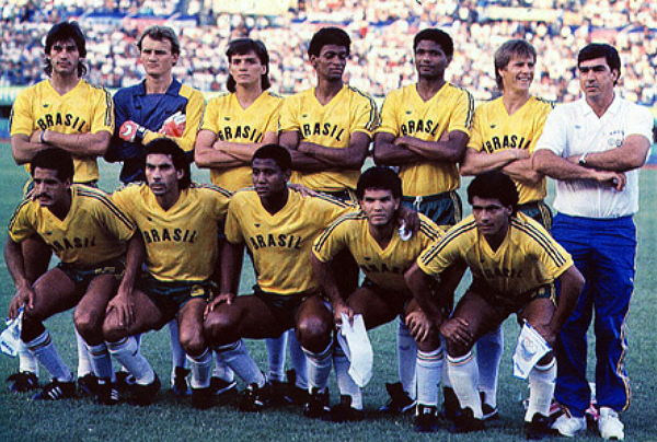 Careca, en el once titular junto a Taffarel y Romario. (Foto: Prensa Cruzeiro)