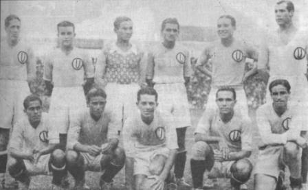 Uno de los primeros equipos cremas en los que destacó 'Juanito' Criado, en 1931 (Foto: libro ¡Y dale U...!, Enrique Roel Miranda)
