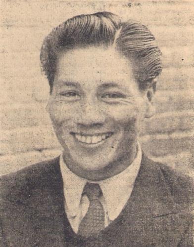 Manuel Rivera en 1949, año en que dejó Ciclista Lima para pasar a Municipal (Foto: revista Equipo)