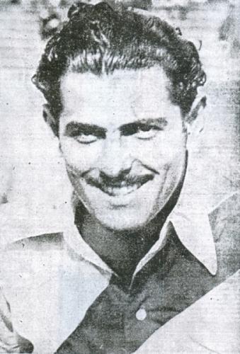 Víctor Bielich (Recorte: diario La Crónica)