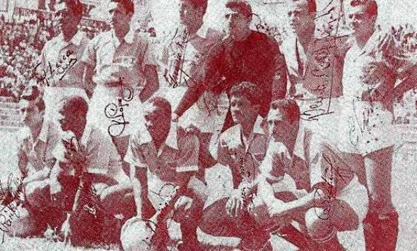 En 1952, el 'Negro Aparicio' arribó al Tampico y se alzó con el título de la liga azteca. Allí jugó con los también peruanos Grimaldo González y Rufino Lecca (Foto: jaibos.com)