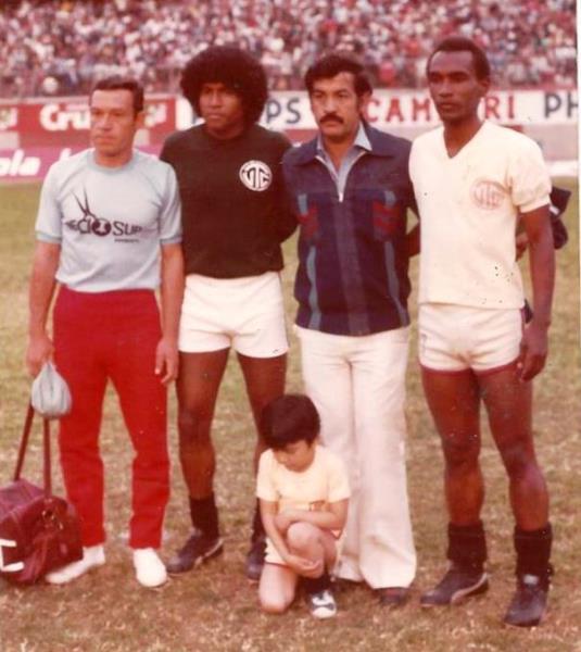 La espesa melena del 'Gato' en la Finalísima de la Copa Perú, en 1981, en el arco de UTC. (Foto: Facebook)