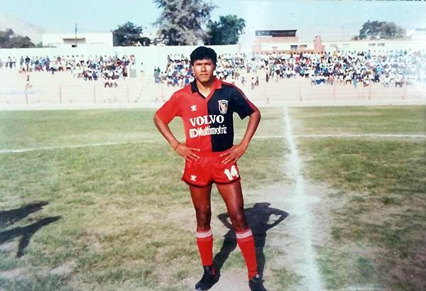 Melgar fichó a Éver Guevara para jugar el Regional Sur de 1991, aunque no le fue muy bien. (Foto: revista La Deportiva)