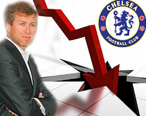 La crisis toca las puertas de Stamford Bridge. ¿Dirá adiós Abramovich? (Ilustración: apurogol.com)