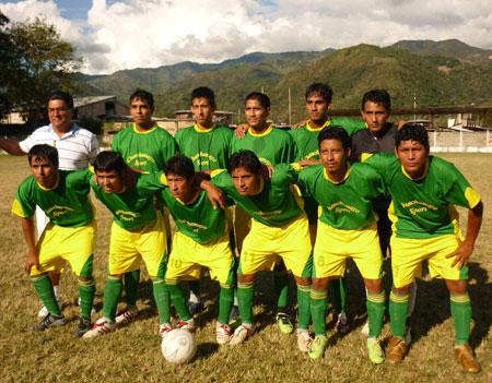 El Chanchamayo FC que en 2009 participó en la Copa Perú (Foto: diario Correo de Huancayo)