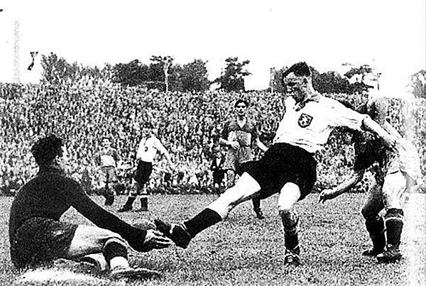 Ernest Willimowski, recordado por sus 4 goles a Brasil en Francia 1938 (Foto: colombiamundialencontravia.blogspot.com)