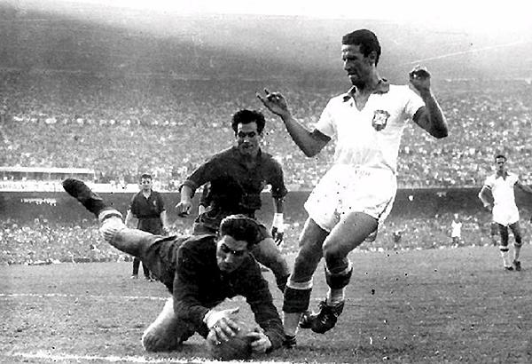 Antoni Ramallets fue un notable arquero en la década de los 50. Plenamente identificado como catalán. (Foto: AS)