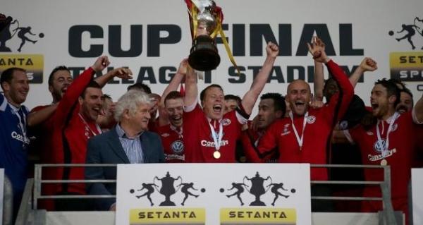 El Sligo Rovers fue el último campeón de la fenecida Setanta Cup, en 2014. (Foto: Irish Times)