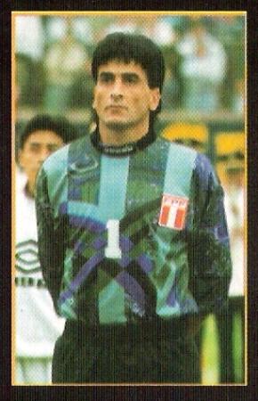 Balerio fue el golero de la selección en las Eliminatorias rumbo a Francia 1998 sin cantar el himno (Foto: revista Once)