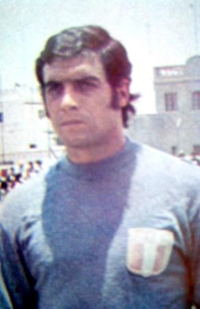 Ballesteros no llegó a atajar oficialmente por la selección, aunque sí en amistosos ante clubes (Foto: archivo José Augusto Giuffra)