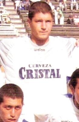 Castells jugó algunos partidos por Alianza Atlético en el Clausura 2006 (Foto: Anuario ADFP 2006)