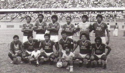 Los Espartanos, la sensación de un 1984 glorioso para el fútbol pacasmayino (Foto: boletín informativo FPF)