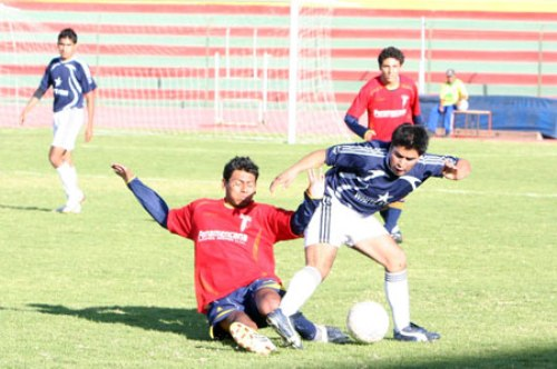 En escena, Deportivo Temperley ante White Star, por el campeonato de Primera División de la Liga Distrital de ElCercado de Arequipa (Foto: diario Correo de Arequipa)