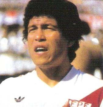 Tras sus épocas de gloria en la selección, 'Panadero' acabó como DT y jugador del Inter de San Borja (Foto: álbum España 1982, editorial Panini)