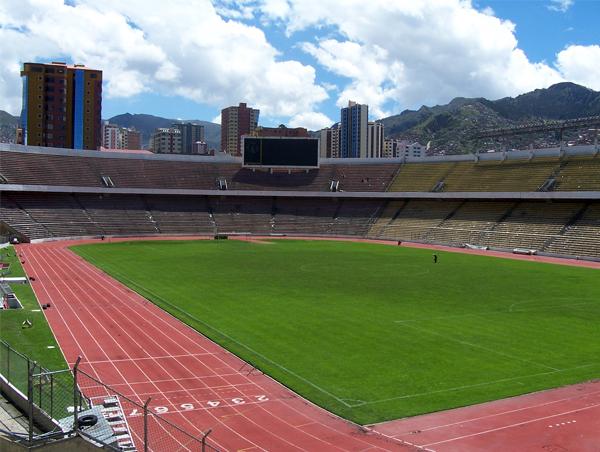 La Paz tampoco conoce de victorias peruanas. Lo mejor han sido algunos empates (Foto: Panoramio).