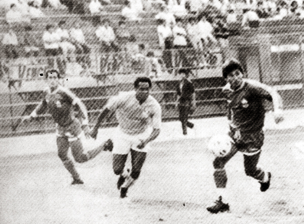 Eugenio La Rosa (Recorte: revista Estadio)
