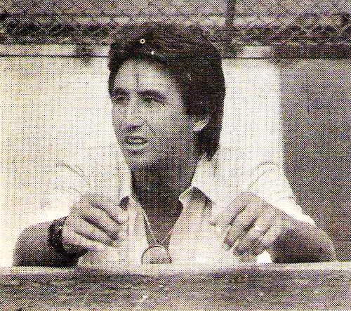 Percy Rojas (Recorte: revista Todo Fútbol)