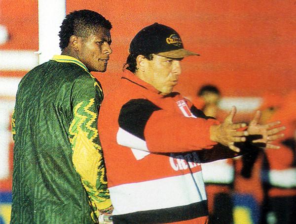 Freddy Ternero (Recorte: revista Once)