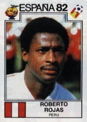Roberto Rojas (Foto: Panini)