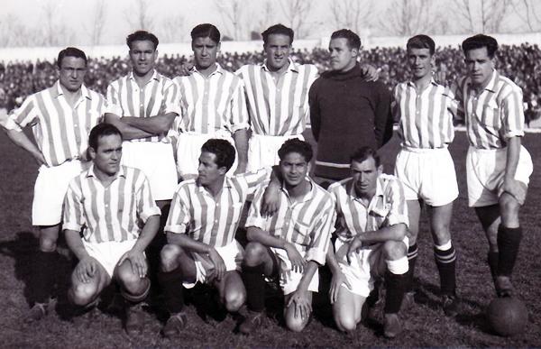 Real Betis 1934/1935. (Foto: manquepierda.com)