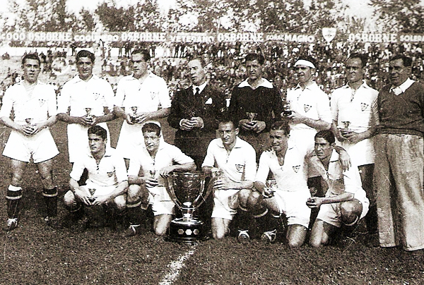 Sevilla 1945/1946. (Foto: mcabellosfc.blogspot.com)