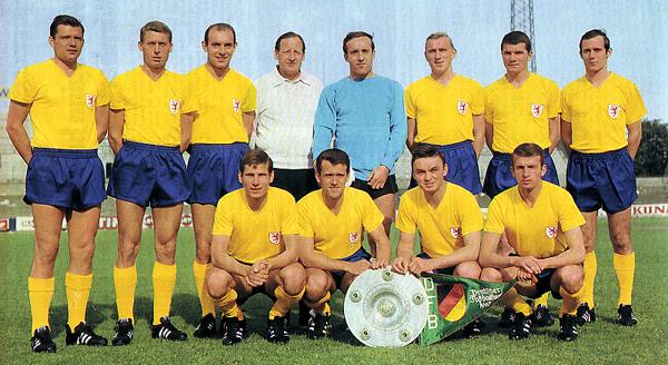 Eintracht Braunschweig 1966/1967. (Foto: eulenspiegelnet.de)